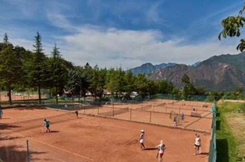 TENNIS TRAINING AM GARDASEE