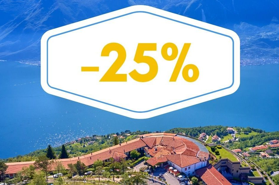 MAY -25% (5=4) 1 NIGHT FREE OF CHARGE